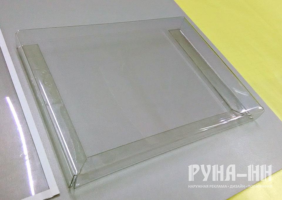 015 - Объемный карман для стенда, формат А4