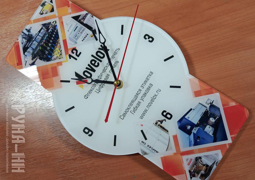 066 - Часы настенные, печать на акриле